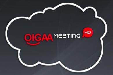 Oigaa meeting, videconferencia en la red, videoconferencia en la nube