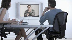 Entrevista de trabajo por videoconferencia